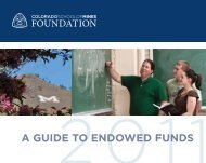 A GUIDE TO ENDOWED FUNDS - Give To Mines - Colorado School ...