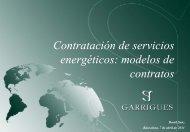 Contratación de servicios energéticos: modelos de contratos