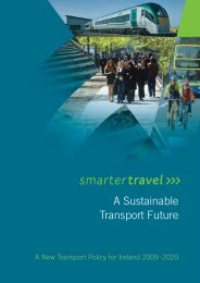 A Sustainable Transport Future - Smarter Travel