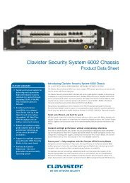 Clavister Security System 6002 Chassis