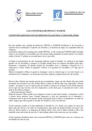LAS AVENTURAS DE PITUSA Y PANETE - Bibliotecas Públicas
