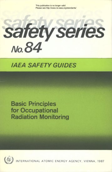 Safety_Series_084_1987 - gnssn - International Atomic Energy ...