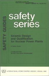Seismic Design and Quaiification for Nuciear Power Piants - gnssn