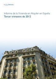 Informe de la Vivienda en Alquiler en España Tercer ... - Fotocasa