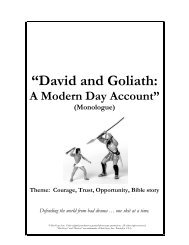 """""""David and Goliath: - Youth Specialties"""