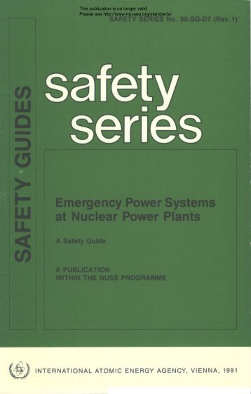 Emergency Power Systems at Nuctear Power P)ants - gnssn