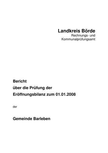 Landkreis Börde - Freie Wähler Barleben