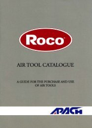 Roco Fittings - Air Tool Catalogue - Specifile on-line
