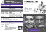 GEMEINDEBRIEF - Evangelische Kirchengemeinde Budenheim