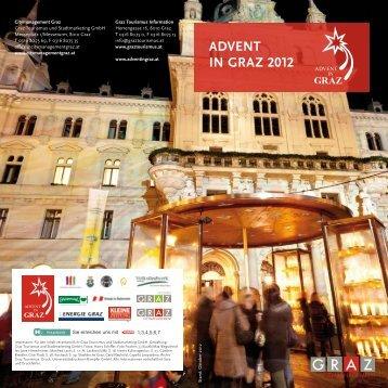 Folder Advent 2012 - KUNSThandWERK in Graz - Mur