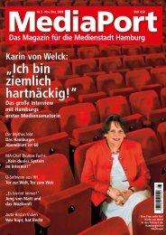 """""""Ich bin ziemlich hartnäckig!"""" - Mediaport - Das Magazin für die ..."""