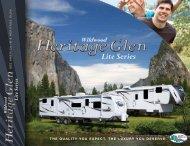 Herritage Glen Catalog - Olathe Ford RV Center