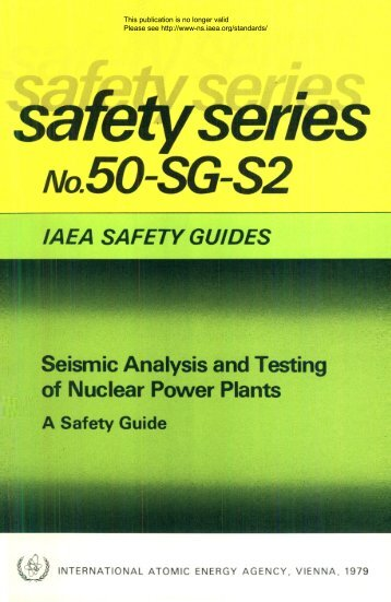 Safety_Series_050-SG-S2_1979 - gnssn - International Atomic ...