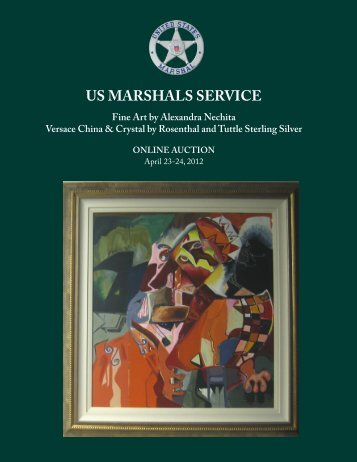 US MARSHALS SERVICE Fine Art by Alexandra Nechita Versace ...