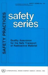 SAFETY PR A CTICES - gnssn - International Atomic Energy Agency
