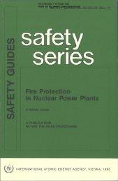 Fire Protection in Nuciear Power Piants - gnssn - International ...