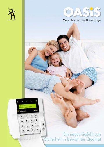 Jablotron OASIS Funk Alarm System - Rauchmelder Profi