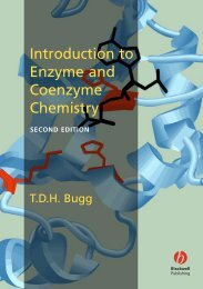 Introduction to Enzyme and Coenzyme Chemistry - E-Library Home