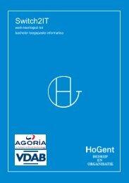 Brochure (pdf) - Faculteit Bedrijf en Organisatie