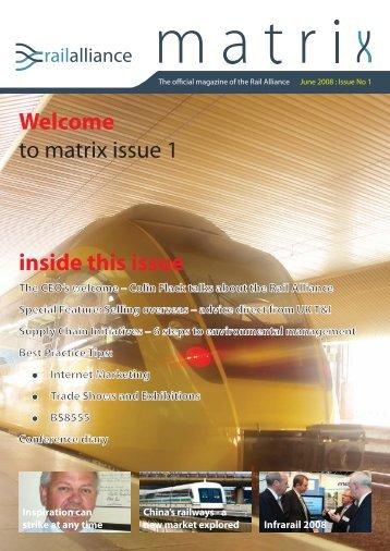 Issue 1 - Rail Alliance