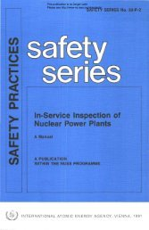 In-Service Inspection of Nuclear Power Plants - gnssn - International ...