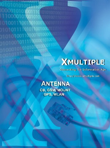 Xmultiple Antenna Brochure