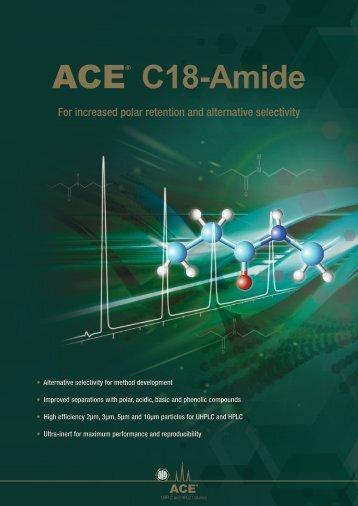 ACE C18 Amide Brochure - Winlab.com.au