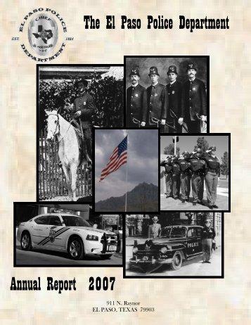 2007 Annual Report working copy_04JUNE2008.pub - City of El Paso