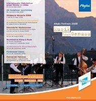 Allgäu Festivals 2008 - FUCHS PR & CONSULTING in Kempten im ...