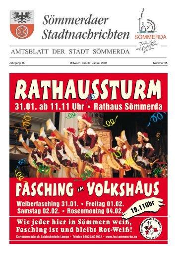 FASCHING VOLKSHAUS FASCHING VOLKSHAUS - Sömmerda