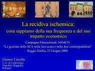 Casella G - La recidiva ischemica dopo SCA - Anmco
