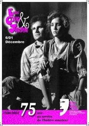 Numéro spécial décembre 2001