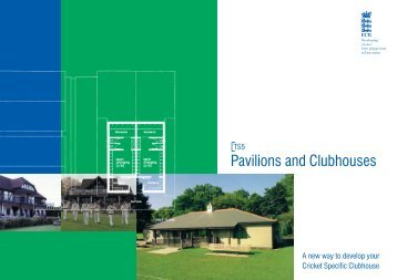 Pavilions and Clubhouses - Cumbria Cricket Board