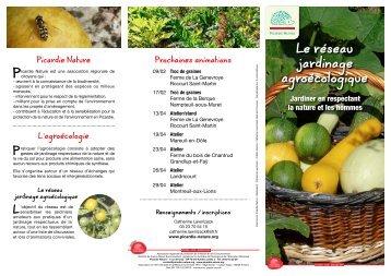 Le réseau jardinage agroécologique