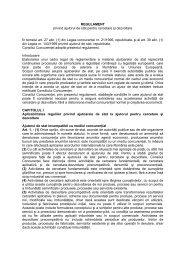 REGULAMENT privind ajutorul de stat pentru cercetare şi dezvoltare ...