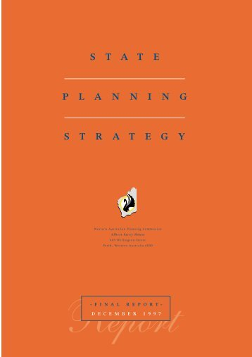 stateplanningstrategy - Western Australian Planning Commission ...