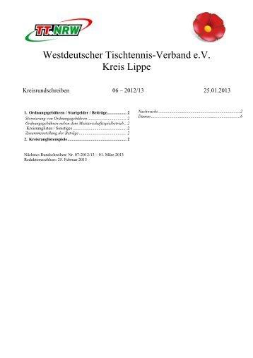 Kreisrundschreiben 6 - WTTV eV Kreis Lippe