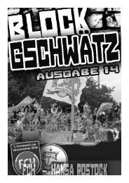 Ausgabe 14 – Hansa Rostock - Fanatico Boys