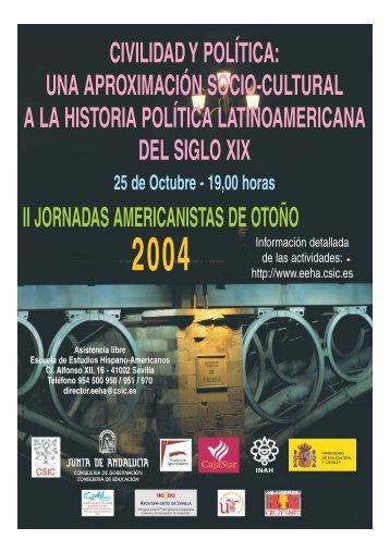 CIVILIDAD Y POLÍTICA - Escuela de Estudios Hispano-Americanos