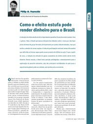 Como o efeito estufa pode render dinheiro para o Brasil - Centro de ...