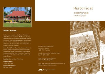 Historical centres - Mackay Regional Council