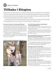 Tillbaka i Etiopien - Till Liv