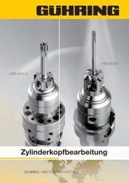 Zylinderkopfbearbeitung - Gühring oHG