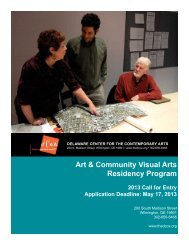 Download PDF Application - Delaware Center for the Contemporary ...