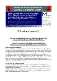 !!! Dreck war gestern !!! -  ML IT-Service Martin  Lange