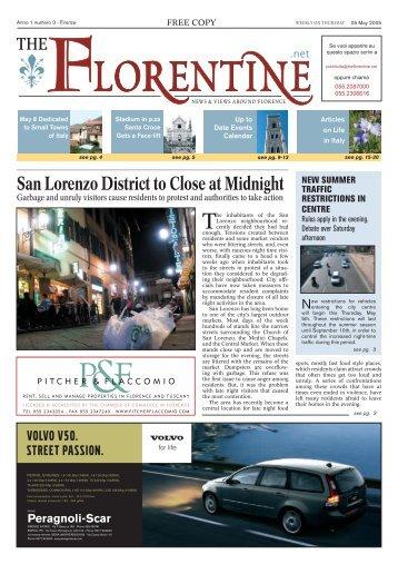 San Lorenzo District to Close at Midnight - The Florentine