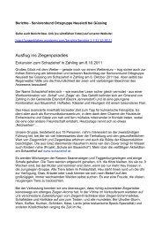 Ausflug ins Ziegenparadies - Seniorenbund Ortsgruppe Neusiedl ...