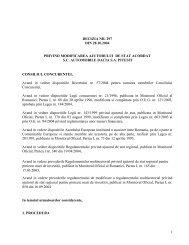1 decizia nr. 297 din 28.10.2004 privind modificarea ajutorului de ...
