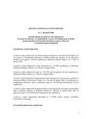 1 DECIZIA CONSILIULUI CONCURENTEI nr. 2 din 06.01.2006 ...