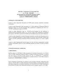 1 DECIZIA CONSILIULUI CONCURENTEI nr. 17 din 10.02.2005 ...